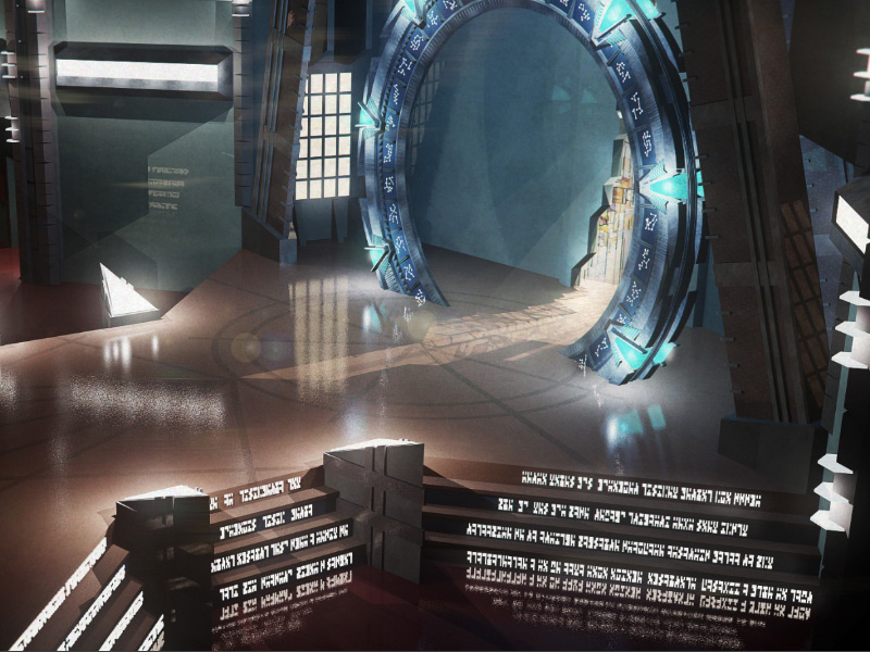 Stargate visualization